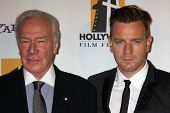 LOS ANGELES - OCT 24:  Christopher Plummer; Ewan McGregor arriving at the 15th Annual Hollywood Film Awards Gala at Beverly Hilton Hotel on October 24, 2011 in Beverly Hllls, CA
