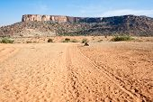 stock photo of dogon  - The Bandiagara Escarpment is an escarpment in the Dogon country of Mali - JPG