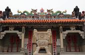 The Entrance To Pak Tai Temple.  Cheung Chau. Hong Kong.