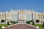 The Catherine Palace Is The Baroque Style, Tsarskoye Selo (pushkin).