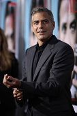 LOS ANGELES - 27 SEP: George Clooney komt naar de