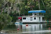 Houseboat On Silver Glen Springs