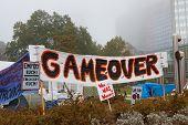 Occupy Frankfurt Protests