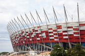 WARSAW - JULY 24 : Premiere presentation of the stadium during The Grand Open Day at the National St