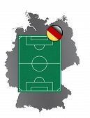 Soccer field Germany