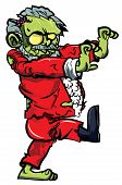 image of lurch  - Cartoon zombie santa lurching - JPG