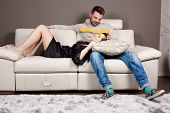 Love And Tenderness On The Couch