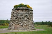 Culloden battle field memorial