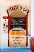 Pizza automatizado que faz a máquina de Vending