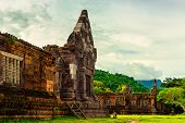 Vat Phou Or Wat Phu Is The Unesco World Heritage Site In Champasak Province, Southern Laos. poster