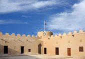 Rooms in the western portion of Riffa fort Bahrain
