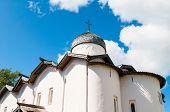 Veliky Novgorod, Russia. Church Of The Myrrh-bearers At The Yaroslav Courtyard, Veliky Novgorod, Rus poster