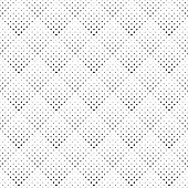 Monochrome Seamless Square Pattern Background Design - Abstract Geometrical Repeating Vector Illustr poster