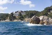 Spain, Costa Brava. Hotel On The Rock.
