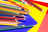 Colored Pencils, Color Gamut poster