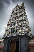 Sri Mariamman Temple Hindu Temple In Downtown Singapore poster