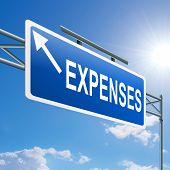 Expenses Concept.