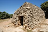 Borie - Medieval Dry-Stone Hut poster