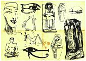 Egyptian collection of images