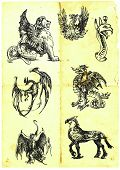 mythological characters VI