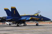 Us Navy Blue Angels No. 1 Jet