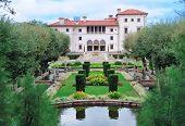 Vista jardim do Museu de Miami Vizcaya