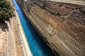 Corinthos Canal Water Passage