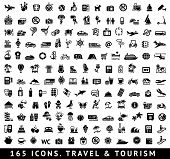 stock photo of transportation icons  - 165 icons - JPG