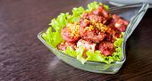 Deep Fried Pork Rib Bone Vietnam Food