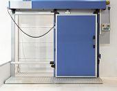 Puerta del refrigerador industrial