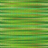Style Seamless Knitted Melange Pattern. Spring Green Color Vector Illustration