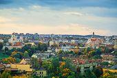 Panorama Of Vilnius