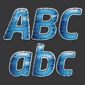 Jean Alphabet Set 1