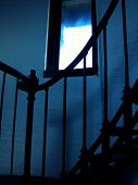 Shadowy Stairwell