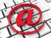 E-mail Icon On Keyboard