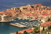 Old Harbour At Dubrovnik, Croatia