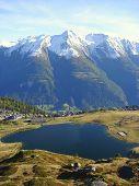 Swiss Mountain Resort Of Bettmeralp