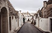 Trulli houses of Alberobello, Italy