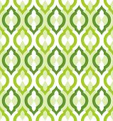 Vector seamless pattern. Moroccan style.