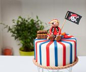 Children's Cake Pirate