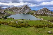 Enol Lake from La Picota