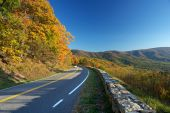 Road In Shenandoah National Park poster