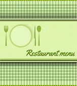 Menu Template For Restaurant