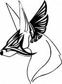 Mask fox Symbol