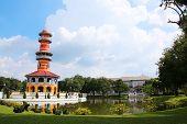 Bang Pa-in Royal Palace In Ayutthaya Thailand