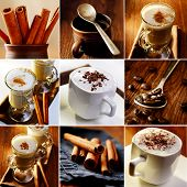Coffee Theme Collageof Images