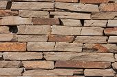 pic of shale  - Shale wall texture can be used as background - JPG