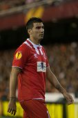VALENCIA - MAY, 1: Reyes during UEFA Europe League semifinals match between Valencia CF and Sevilla