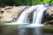 waterfall in Prachuap Khiri Khan province, Thailand