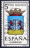 Arms Of Provincial Capitals Shows Badajoz